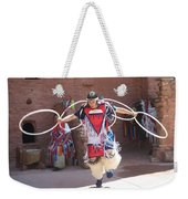 Indian Hoop Dancer Weekender Tote Bag