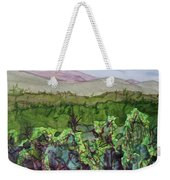 Chimney Mountain, Indian Lake Overlook Panorama 4 Weekender Tote Bag