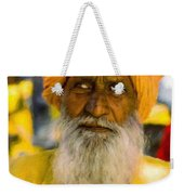 Indian Old Man Weekender Tote Bag