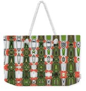 Indian Paint Pot Flower Abstract Weekender Tote Bag