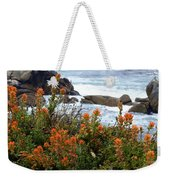 Indian Paintbrush At Point Lobos Weekender Tote Bag