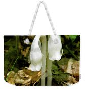 Indian Pipes - Monotropa Uniflora Weekender Tote Bag