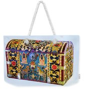 Indian Portuguese Chest Weekender Tote Bag