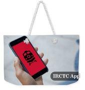 Indian Railways Info App Weekender Tote Bag
