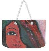 Indian Rajasthani Woman Weekender Tote Bag