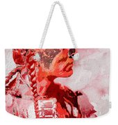 Indian Red Weekender Tote Bag