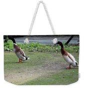 Indian Runner Ducks Weekender Tote Bag