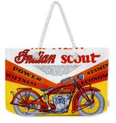 Indian Scout Weekender Tote Bag
