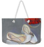 White Shoes  Weekender Tote Bag