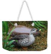 Indian Spot-billed Duck Weekender Tote Bag