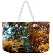 Indian Summer Along The Wissahickon Weekender Tote Bag