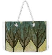 Indian Summer Snow Weekender Tote Bag