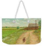 Indiana Farm Weekender Tote Bag