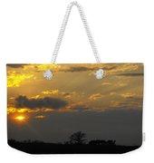 Indiana Farm Sunset 3 Weekender Tote Bag