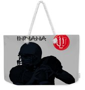Indiana Football Weekender Tote Bag
