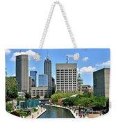 Indianapolis Canal Weekender Tote Bag