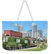 Indianapolis From The Park Weekender Tote Bag