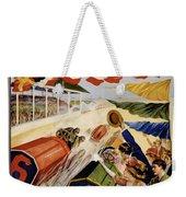 Indianapolis Motor Speedway Vintage Poster 1909 Weekender Tote Bag