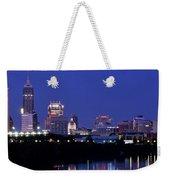 Indianapolis Panorama Weekender Tote Bag