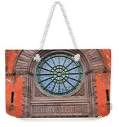 Indianapolis Union Station Building Weekender Tote Bag