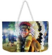 Indians Invade Thailand. Cowboys Too Weekender Tote Bag by Mr Photojimsf