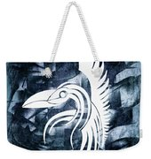 Indigo Bird Flight Contemporary Weekender Tote Bag