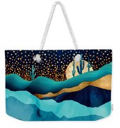 Indigo Desert Night Weekender Tote Bag