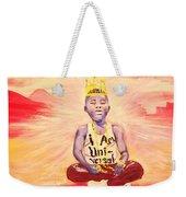 Indigo Melanin Weekender Tote Bag