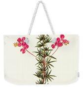 Indigo Plant Weekender Tote Bag