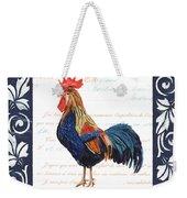 Indigo Rooster 2 Weekender Tote Bag