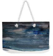 Indigo Winter Night Weekender Tote Bag
