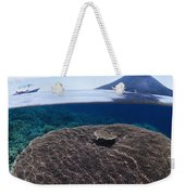 Indonesia, Coral Reef Weekender Tote Bag