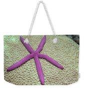 Indonesia, Pink Sea Star Weekender Tote Bag