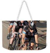 Indoor Bike Race Weekender Tote Bag