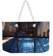 Indoor Pool Weekender Tote Bag