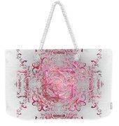 Indulgent Pink Lace Weekender Tote Bag