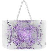Indulgent Purple Lace Weekender Tote Bag