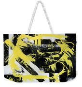 Industrial Abstract Painting I Weekender Tote Bag