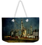 Industrial Farming In Texas Weekender Tote Bag