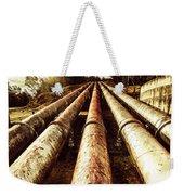 Industrial Hydro Architecture Weekender Tote Bag