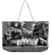 Industrial Landscape In Black And White 1 Weekender Tote Bag