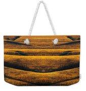 Industrial Prairie Weekender Tote Bag