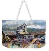 Industrial Recreation Park Weekender Tote Bag