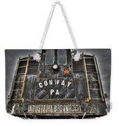 Industrial Workhorse Weekender Tote Bag