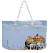 Industry Tank For Gas And Liquid Weekender Tote Bag