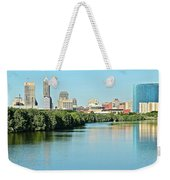 Indy White River View Weekender Tote Bag