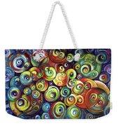 Infinite Cosmic - Abstract Weekender Tote Bag