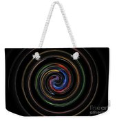 Infinite, Ever Expanding Image. Colorful And Classic Spiral Digital Art That Can Enhance Your Mood. Weekender Tote Bag