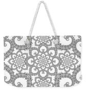 Infinite Lily In Black And White Weekender Tote Bag