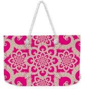 Infinite Lily In Pink Weekender Tote Bag